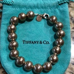 Tiffany & Co.  Sterling Beaded Bracelet